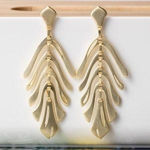 KENDRA SCOTT Luca Statement Gold Earrings